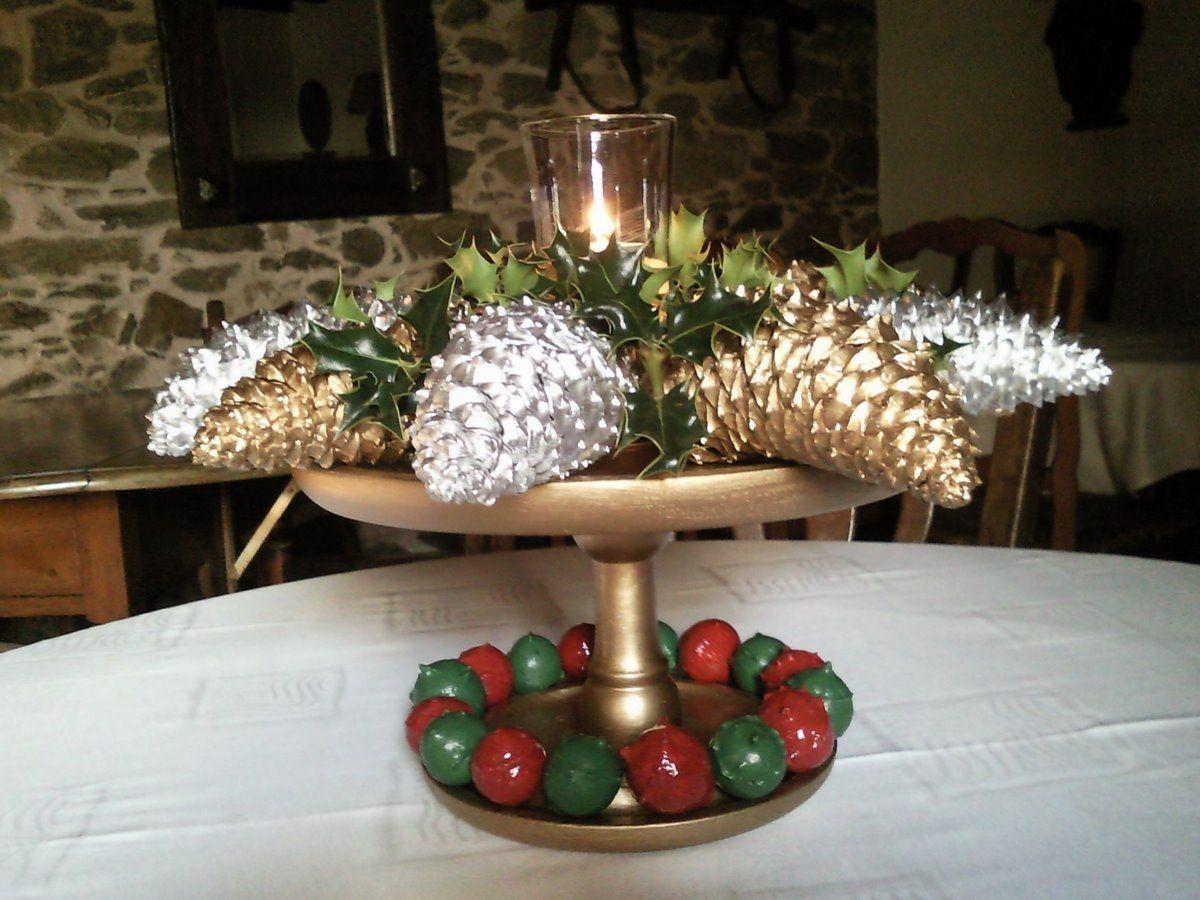 Centro de Navidad para mesa