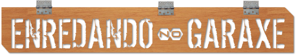 Logo blog definitivo. enredandonogaraxe.club