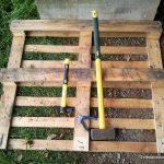 Cómo desmontar un palé de madera
