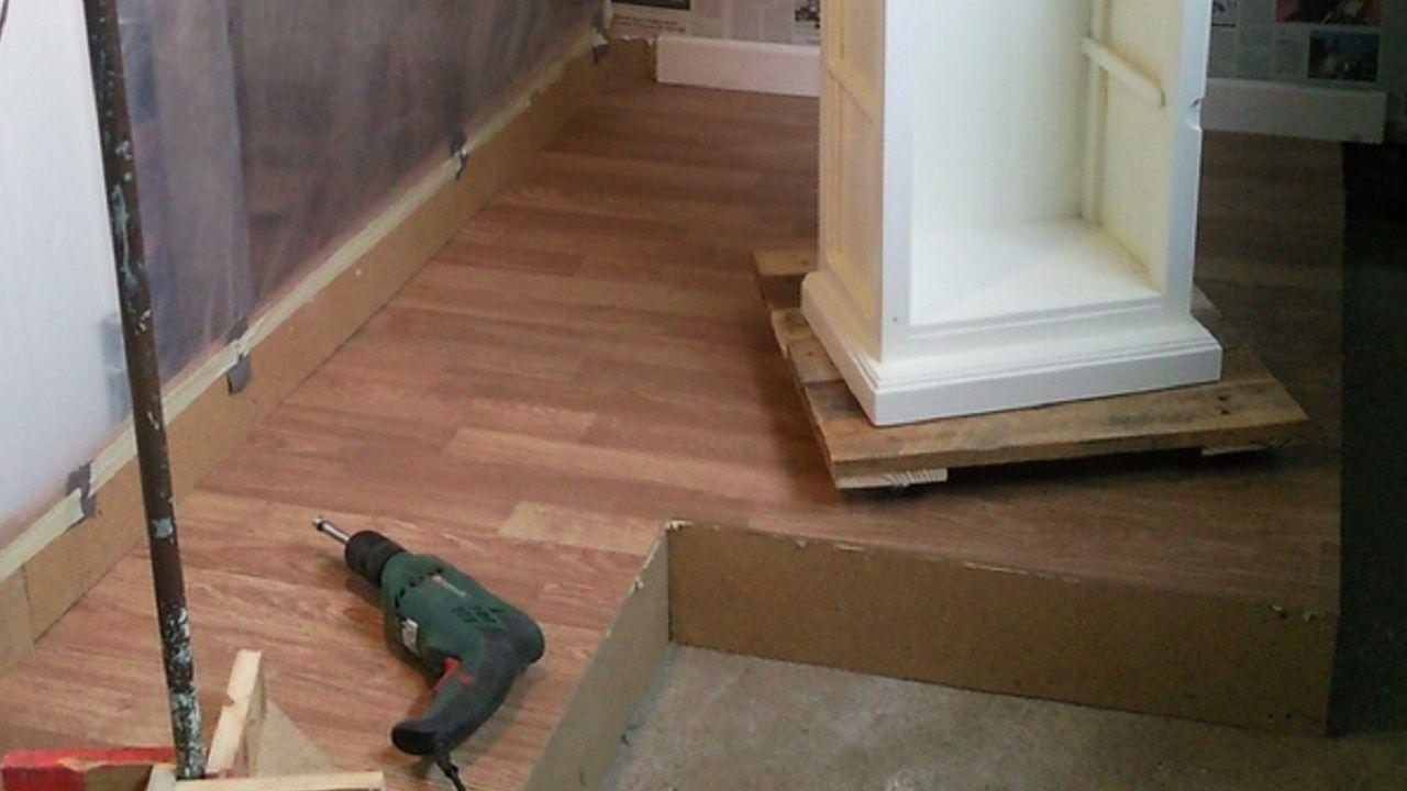 Hacer base giratoria con madera de palet