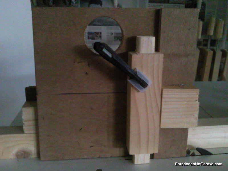 Como cortar espigas con la sierra de mesa