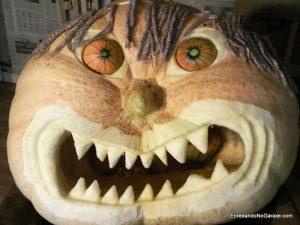 Calabaza gigante de Halloween. enredandonogaraxe.club