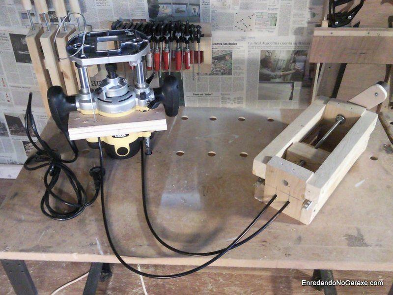 Sistema de elevación para mesa fresadora. enredandonogaraxe.club