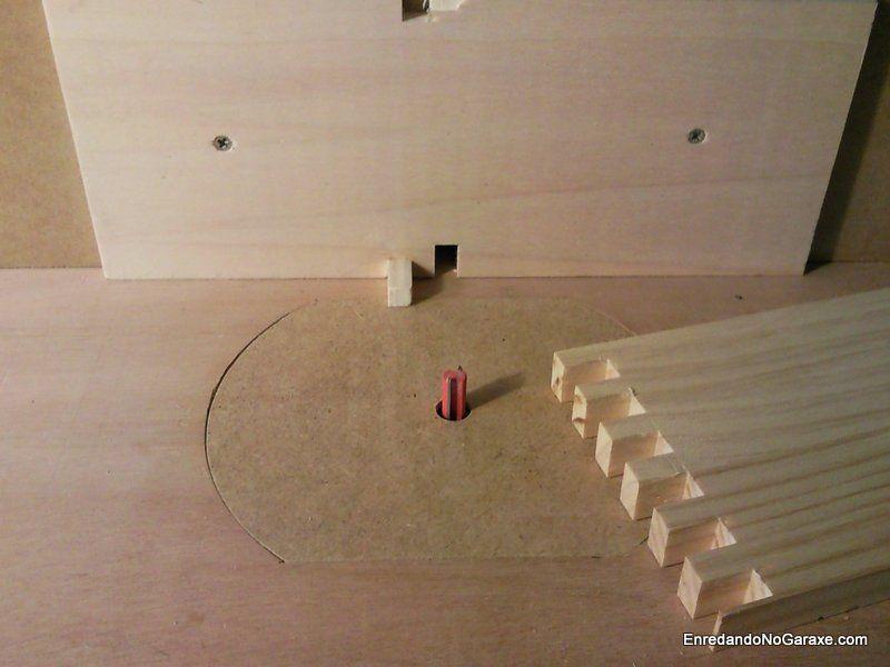 Como cortar uniones para cajas con la mesa fresadora