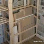Almacenar madera verticalmente. enredandonogaraxe.club