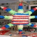 Piñata with fringes of pinocchio paper. enredandonogaraxe.club