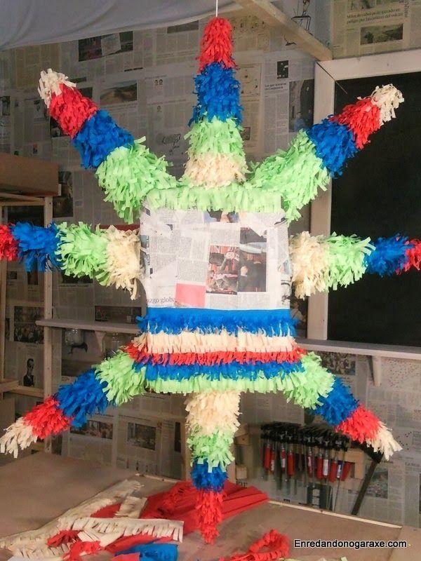 Decorar el cuerpo de la piñata. enredandonogaraxe.club