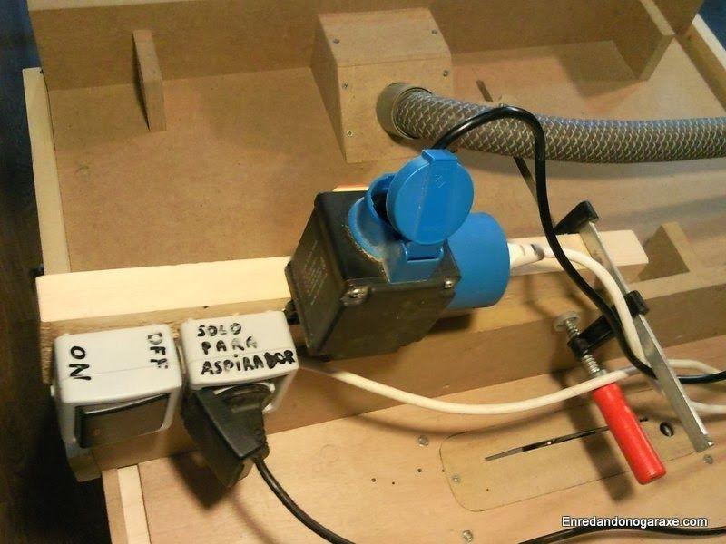 Enchufe para aspirador e interruptor de seguridad de las máquinas. enredandonogaraxe.club