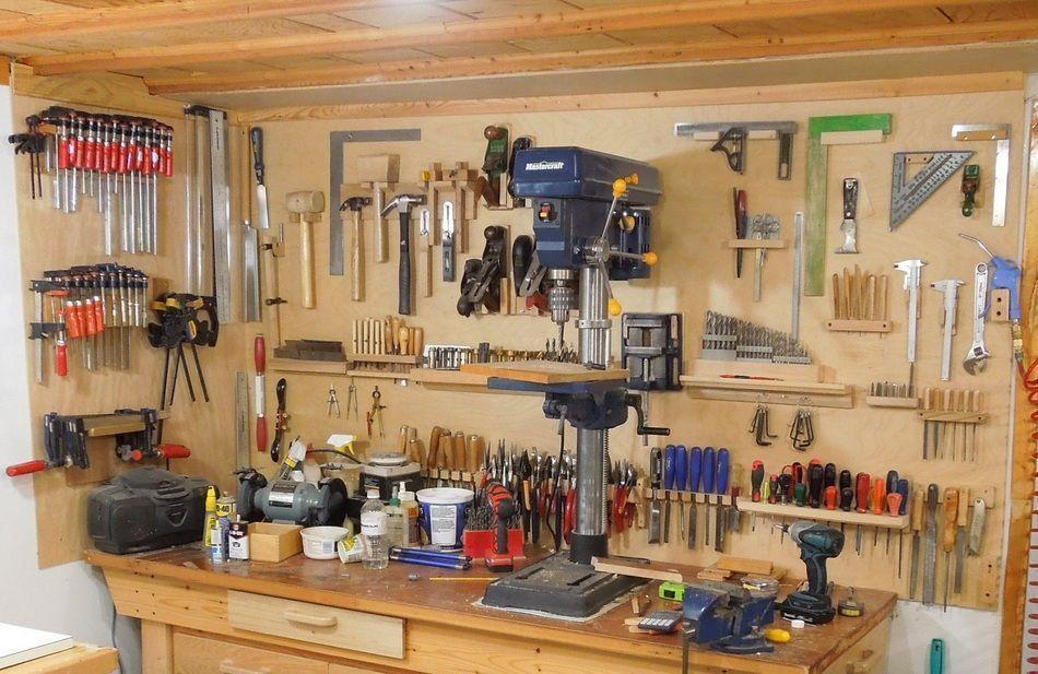 Soportes para panel de herramientas. enredandonogaraxe.club