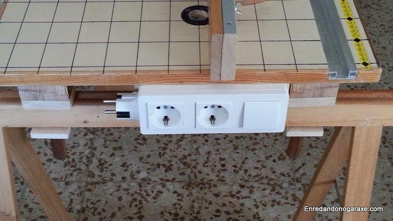 Interruptor de la mesa multifunción. enredandonogaraxe.club
