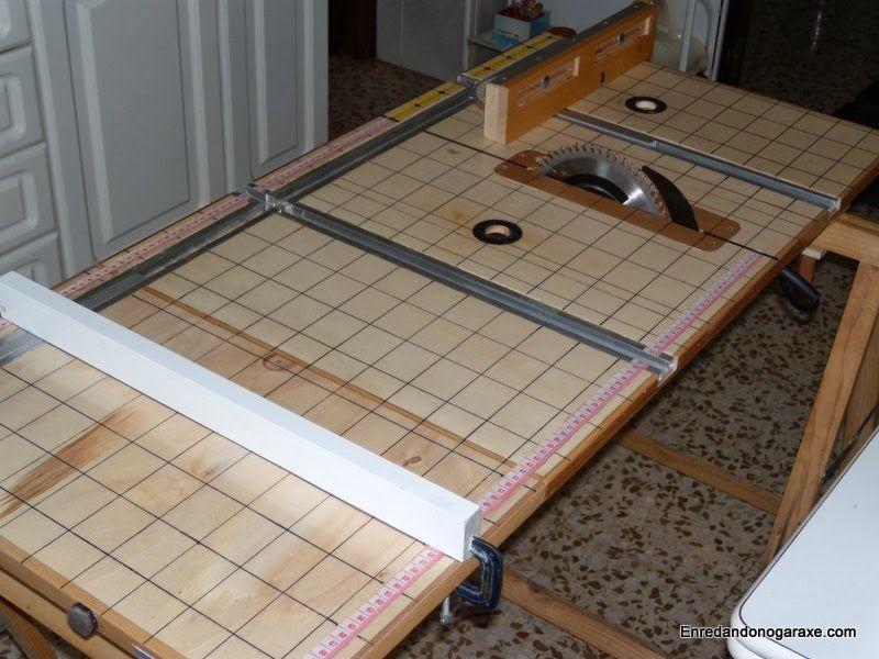 Sierra de mesa multifunción de carpintería. enredandonogaraxe.club