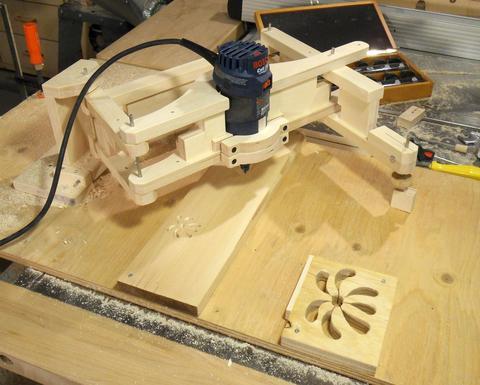 Pantógrafo copiador 3D. enredandonogaraxe.club