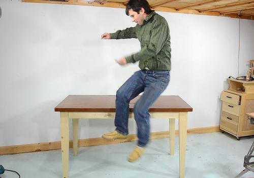 Hacer una mesa de madera. enredandonogaraxe.club