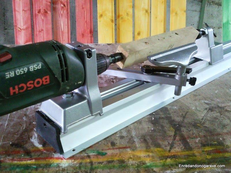 Torno taladro para madera económico