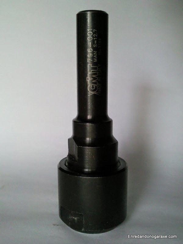 Mandril alargador para fresadoras de 12 mm. enredandonogaraxe.club