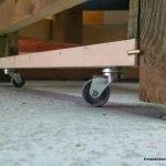 Put wheels on a bench. enredandonogaraxe.club