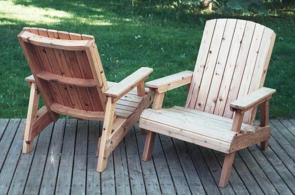 Sillas de madera de jardín. enredandonogaraxe.club