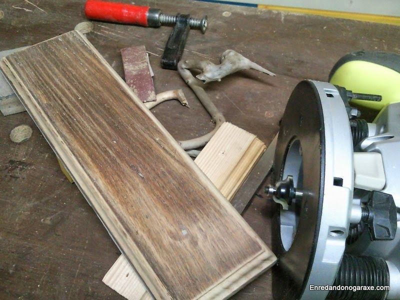 Fresar una moldura en una tabla. enredandonogaraxe.club