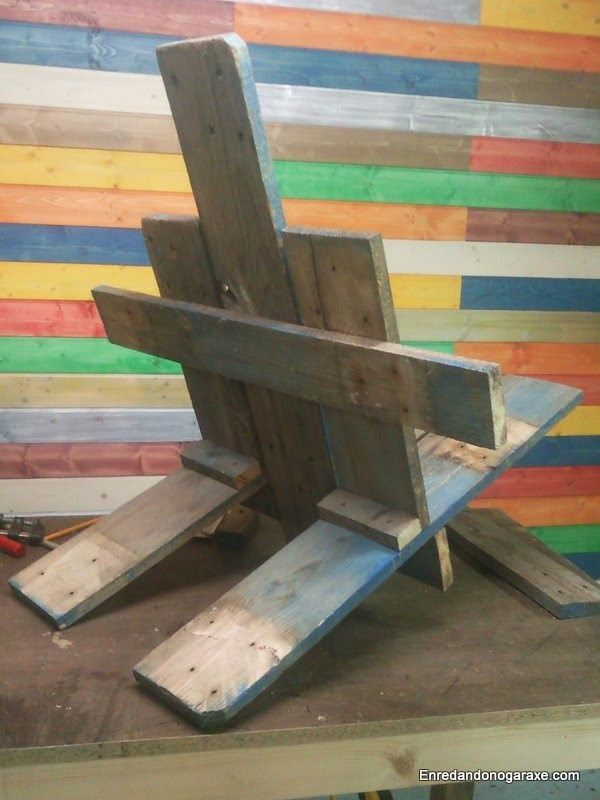 Parte de atrás de la silla de jardín. enredandonogaraxe.club