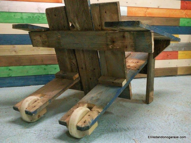 Poner ruedas a una silla de jardin. enredandonogaraxe.club
