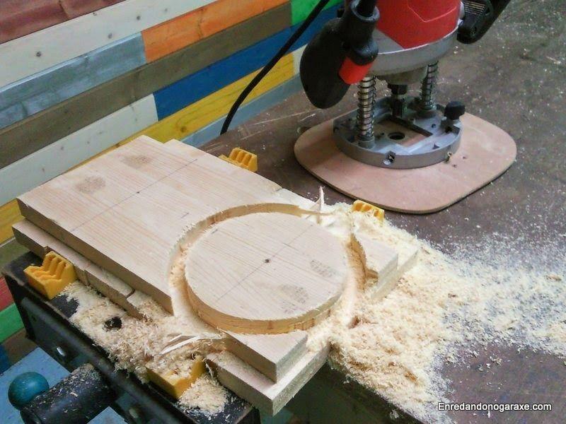 Fresar un círculo con la fresadora. enredandonogaraxe.club