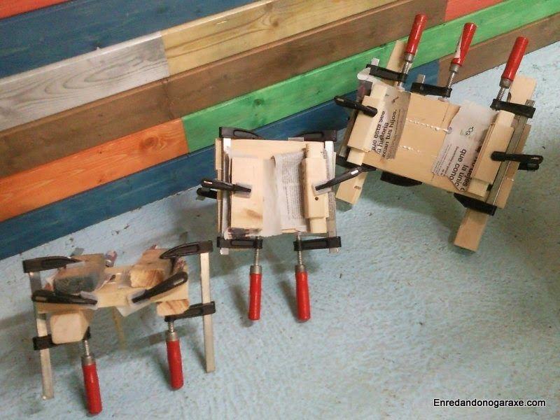 Hacer tableros pequeños de madera. enredandonogaraxe.club