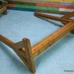 Soportes laterales de la valla de madera. enredandonogaraxe.club