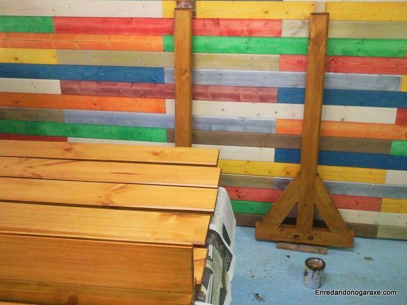 Aplicar un tinte protector a la madera. enredandonogaraxe.club