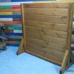 Wooden fence to train rci. enredandonogaraxe.club