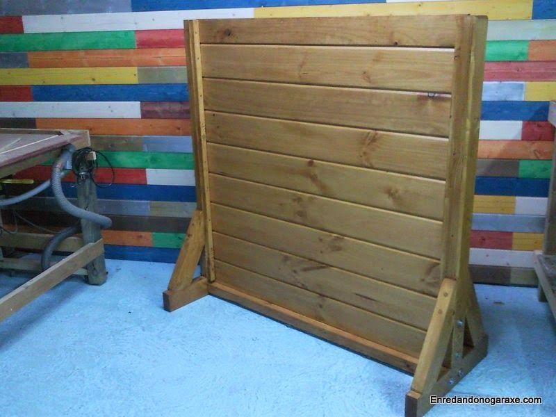 Cómo hacer una valla de madera de altura regulable