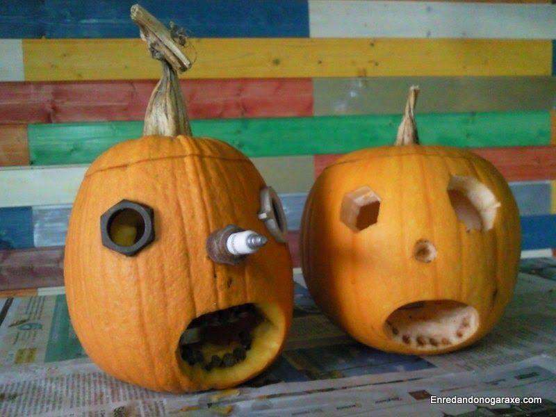 Cómo hacer una calabaza de Halloween. enredandonogaraxe.club
