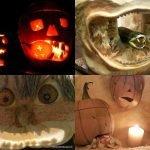 How to carve and make Halloween lantern pumpkins