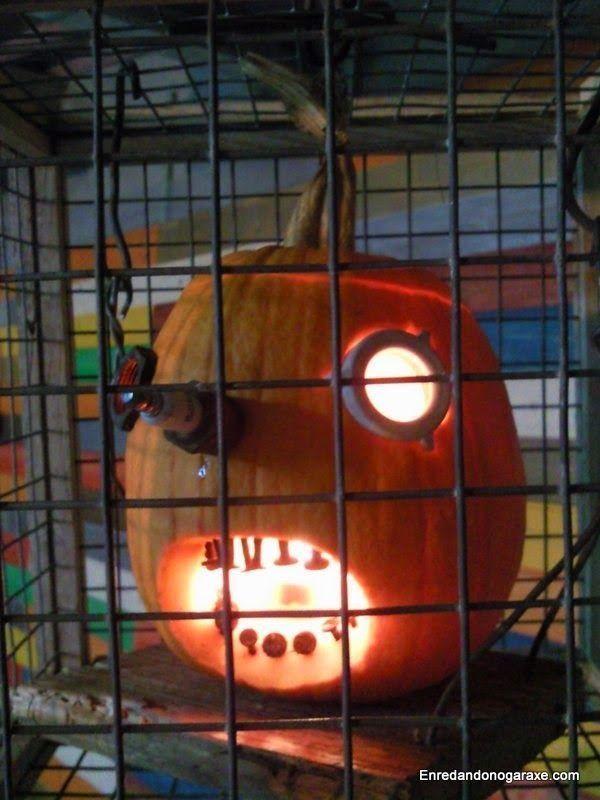 Calabaza linterna de Halloween Jack´O. enredandonogaraxe.club