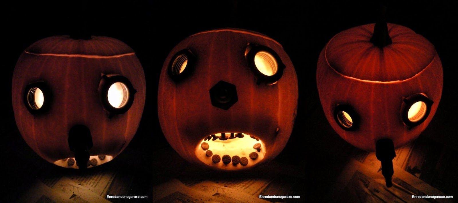 Tallar linterna de Jack Halloween. enredandonogaraxe.club