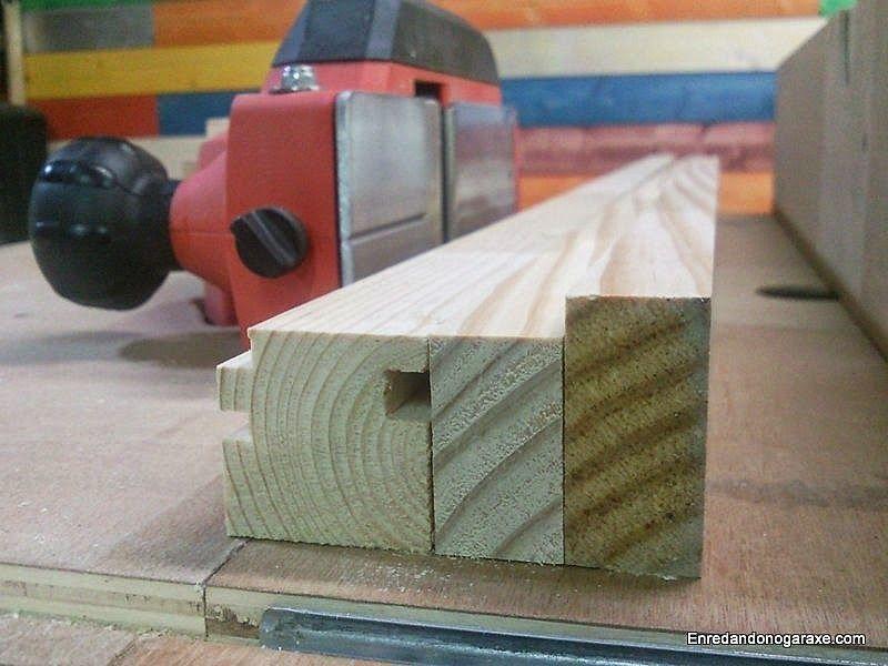 Cómo regruesar los listones de madera