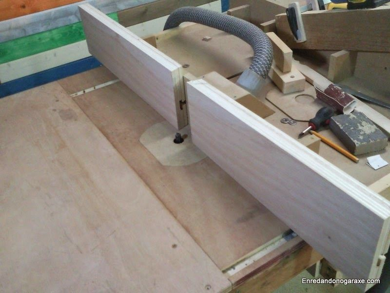 Make a lateral guide for milling table