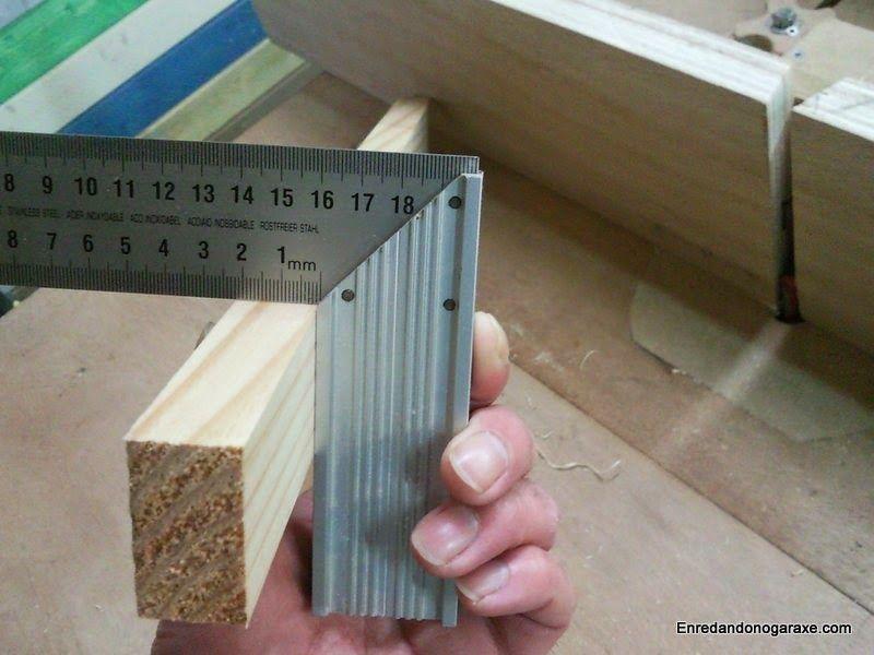 Cepillar tablas con la mesa fresadora