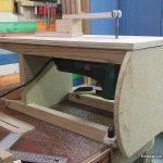 Mesa soporte para la sierra de calar