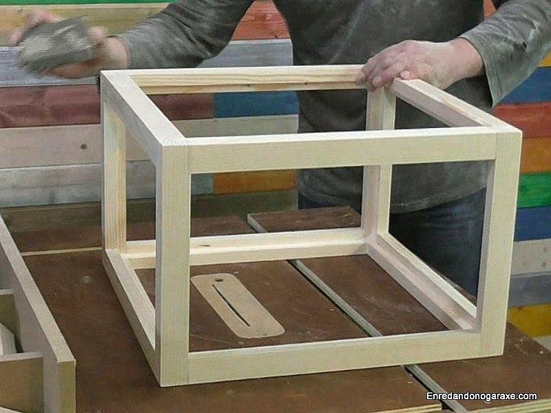 Cómo hacer vitrina expositora para pota de barro cocido, parte 2