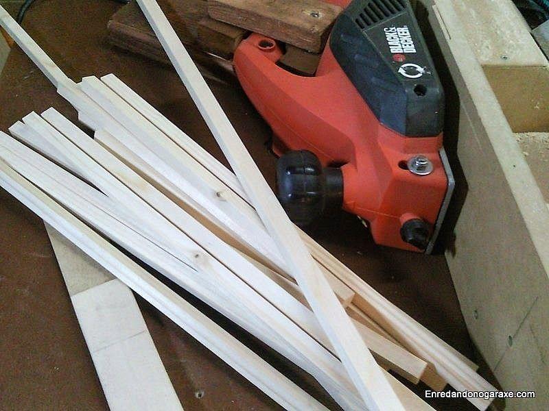 Hacer junquillos de madera para los cristales