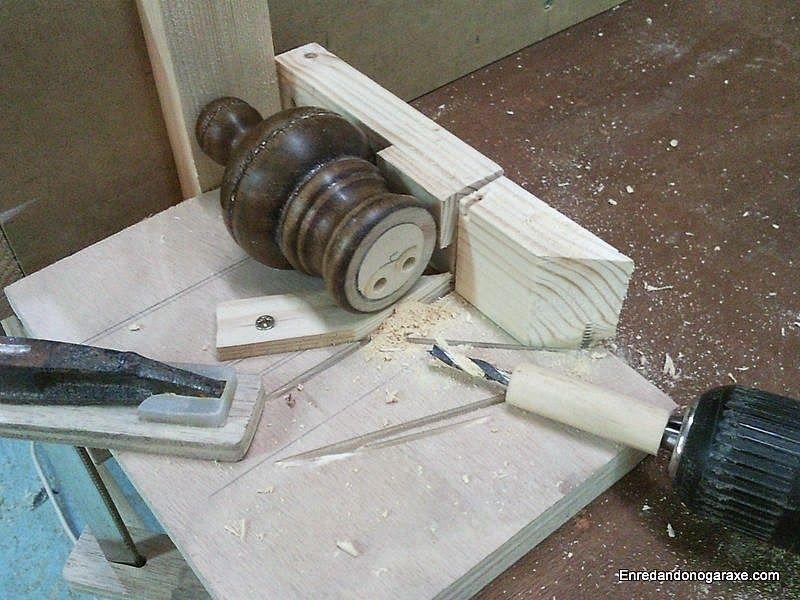 Taladrar las piezas torneadas