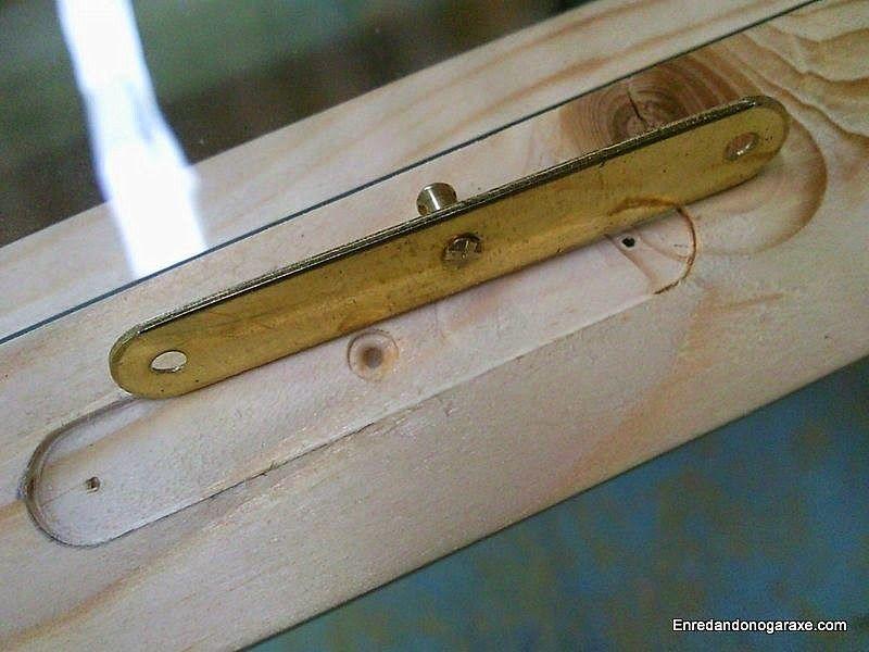 Fresar el rebajo para la contrachapa