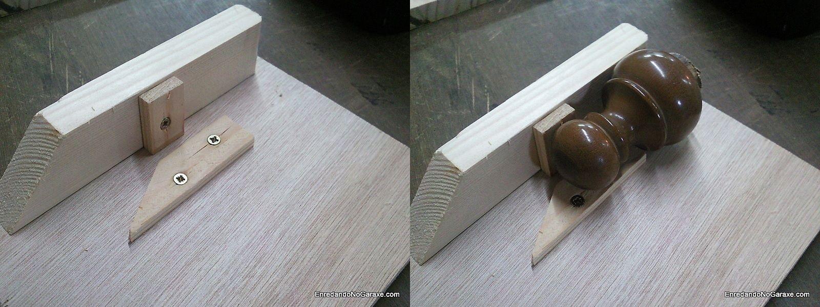 Topes para nivelar a pieza cortar