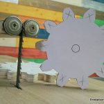 Cómo hacer engranajes de madera de contrachapado