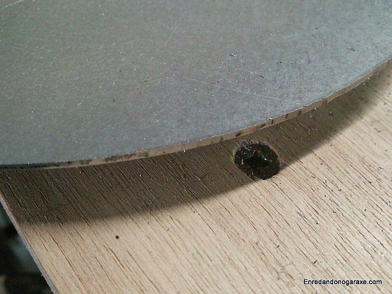 Corte limpio en chapa de metal