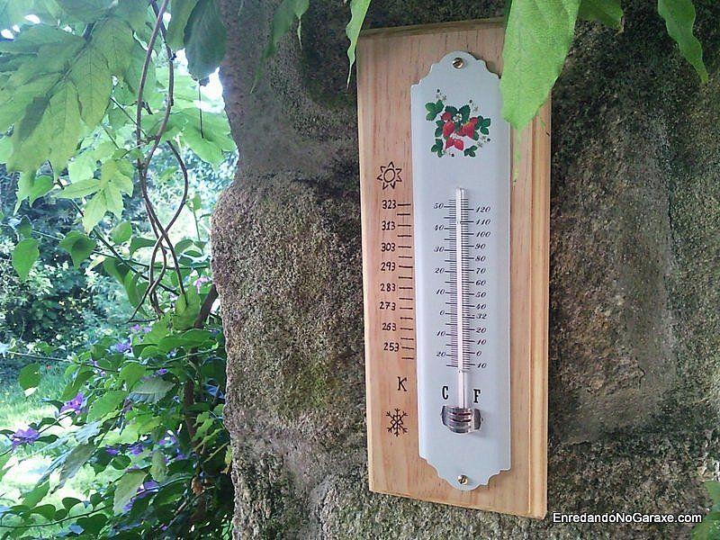 Hacer un soporte de madera para un termómetro de pared