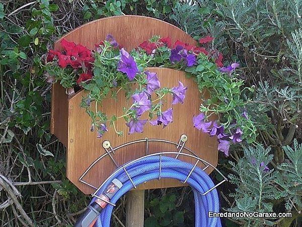 Soporte para manguera de jardín, parte 1