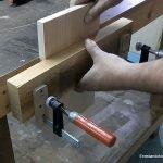 How to make a carpenter bench vice