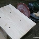 Make disc sander with drill