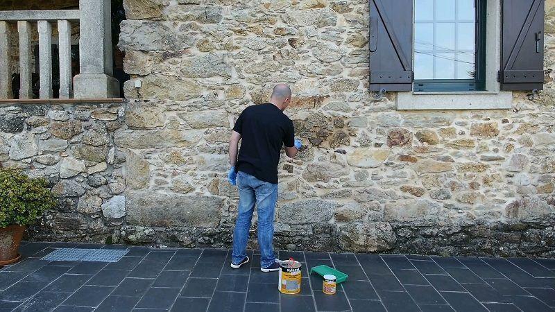 Producto para impermeabilizar fachas, piedra y hormigon
